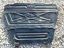 88-91 Honda Civic Wagon Spare Tire Cover Metal Cargo Shelf Lid Trunk Rear OEM