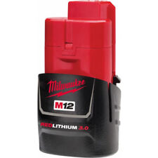 NEW MILWAUKEE M12 12V CORDLESS M12B3 3AMP BATTERY (LITHIUM ION TECHNOLOGY)