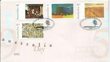 1995 Australia Day set 4 Fdi Northbridge Wa 12 Jan 1995 Special Postmark