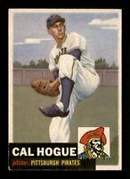 1953 Topps Set Break # 238 Cal Hogue EX-MINT *OBGcards*
