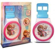 Girls Disney Frozen 'elsa & Anna' 92cm Bedroom Wall Clock Birthday XmasGift