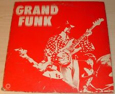 GRAND FUNK RAILROAD SELF TITLE RED ALBUM GATEFOLD 1969 CAPITOL SKAO-406