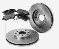 2 Bremsscheiben und 4 Bremsbeläge OPEL Combo Meriva A 4Loch Felge vorne 260 mm