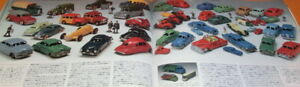 Rare Model Cars' Collection book Die-cast toy from japan #0616