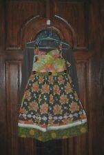 Matilda Jane Fall apron knot dress & top shirt set Size 6 EUC