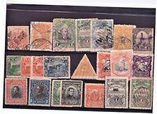 EL SALVADOR USATO LOTTO DI 22 FRANCOBOLLI DAL 1890 AL 1920