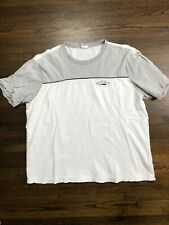 MEN'S TOMMY JEANS WHITE And Gray T-SHIRT Sz Large L Rare Vintage VTG Fast Ship!