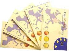 Offizieller Kurssatz 2007 ADFGJ PP: Eurokursmünzen + 2 € Schwerin + R.Verträge