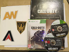 XBOX 360 GAME CALL OF DUTY ADVANCED WARFARE +COOL LIMITED EDITION STRATEGY GUIDE