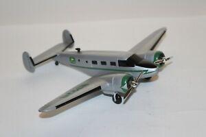 Liberty Classics Die Cast Metal Airplane Bank John Deere Beech Model 18