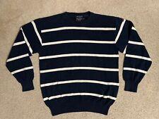 Paul and Shark Yachting Bretagne SWEATSHIRT Sweater cotton MEDIUM blue striped