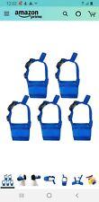 New listing Alfie Pet 5 Piece Adjustable Mesh Muzzle set Blue Size Medium Free Shipping