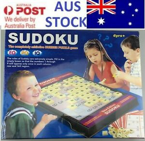 Au Sudoku Board Games for Kid Number Puzzle Educational Toy Party Family Game