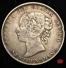 1899 Newfoundland 50 Cents - VF/EF - Lot#74