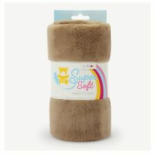 Kullaloo Plüsch Super Soft SNUGLY (0,75 x 1 m) -- 62350 - braun  #16020