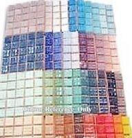200 Mosaic Craft Tiles 2x2cm Mosaic Craft Colour Pack 40 Colours x 5 Tiles