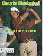 SPORTS ILLUSTRATED - FEATURING GARY PLAYER FROM MAY 1, 1978