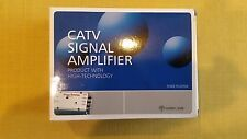 30db Cable TV HDTV Antenna Booster Signal Amplifier Splitter & USA FREE SHIPPING