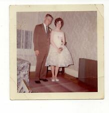Vintage Photo Young Man & Woman, Prom Couple, 1960's, May16