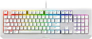 NEW Razer BlackWidow Mercury White Mechanical Gaming Keyboard RGB Light