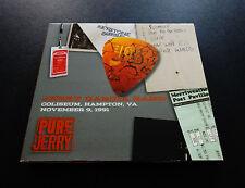 Jerry Garcia Band Hampton Coliseum 11/9/1991 VA Pure Jerry 7 2 CD Grateful Dead