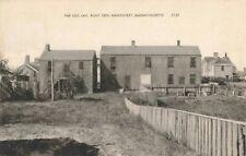 Postcard Old Jail Built 1805 Nantucket Massachusetts