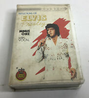 Reflections Of Elvis Presley Cassette Tape Minus One With Vocal
