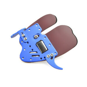 Left Hand Archery Finger Tab Guard Bow Protector Gear Aluminum Decut HOCKII