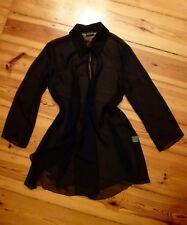 HÖPFNER Transparent-Bluse Chiffon Gr. 38 schwarz neuwertig!