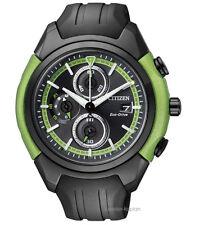 Citizen Eco Drive orologio uomo ca0289-00e SPORT orologi gomma orologio uomo UVP 249 €