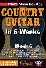 Steve Trovato's Country Guitar in 6 Weeks Week 6 Lick Library DVD NEW 000393169