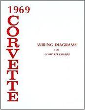 1969  69   CORVETTE WIRING DIAGRAM  MANUAL