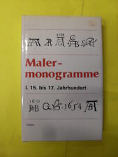 MALER MONOGRAMME I - ED.DAUSIEN - 1988