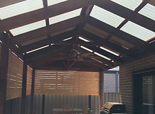 Gable Roof Pergola/Verandah. Supply and install. Melbourne.