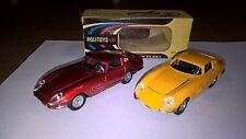Politoys Serie M lotto 2 art.540 Ferrari 275 GTB/4 colori rosso e giallo con box