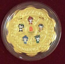 2008 Beijing Olympics fluoridated commemorative medallion