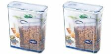 2 x LOCK AND & LOCK CEREAL & PASTA CONTAINER 4.3L HPL714F