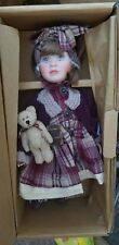 """Boyds Bear Yesterday Child Doll Collection """"Kellie & Evan.. Style 4804 In Box"""