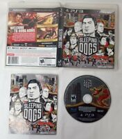 Sleeping Dogs PlayStation 3 PS3 TESTED DISC CIB COMPLETE FAST TRACKED SHIPPING