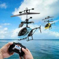 RC Hubschrauber Fernbedienung Drohne Induktion Fliegen Flugzeug Spielzeug K W5T2