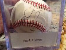 Frank Thomas autograph baseball
