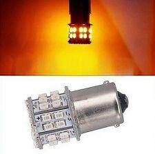 Ampoule BA15S LED P21 W 50 SMD Orange Clignotants Veilleuses voiture 1156