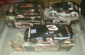 Lot of 3 Racing Champions Diecast 1:2 Chevy BANK  Dale Earnhardt NEW