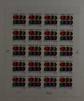 US SCOTT 4200 PANE OF 20 JURY DUTY 41 CENT FACE MNH