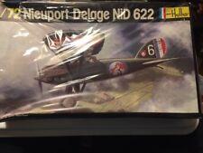 VINTAGE HELLER 1/72  NIEUPORT DELAGE NiD 622 --SHRINKWRAPPED, NEW !