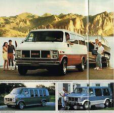 1987 GMC RALLY VAN Brochure / Catalog w/ Color Chart:G-1500,G-2500,STX,CUSTOM