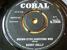 "BUDDY HOLLY - BROWN EYED HANDSOME MAN  7"" VINYL"