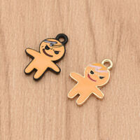 5 Pcs Cute Doll Shaped Accessories DIY Charms Badge for DIY Necklace Jewelry