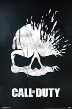 CALL OF DUTY - SKULL VIDEO GAME POSTER - 22x34 - COD 15833