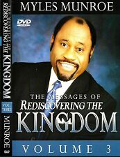 The Messages of Rediscovering the Kingdom - Volume 3 - 2 Dvds - Dr. Myles Munroe